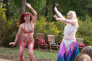 The Turkish belly dancers. - image courtesy of Marilyn Holmested